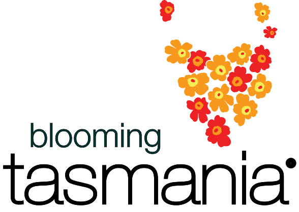 Blooming Tasmania :: Tasmania is my Garden Logo